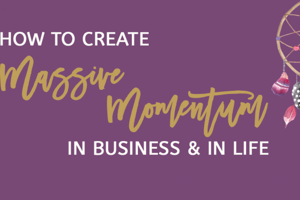 How To Create Massive Momentum
